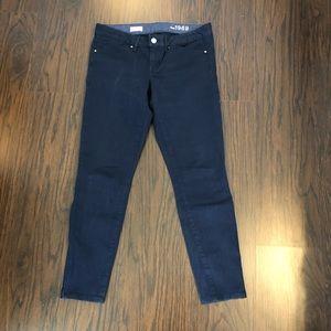 GAP 1969 ALWAYS SKINNY Zip Ankle Skinny Jeans